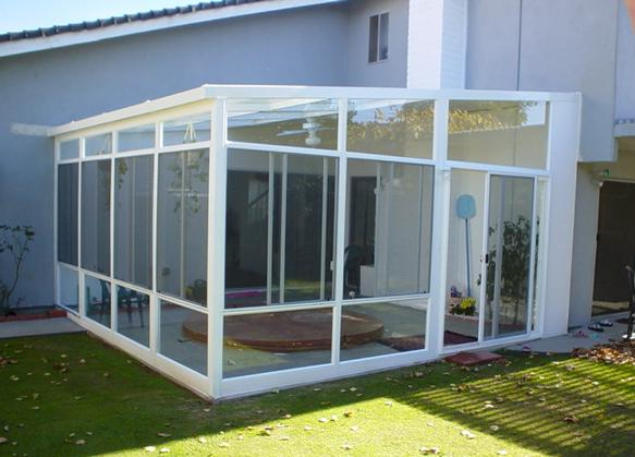 California Sunrooms – Curved Sunrooms & Solariums