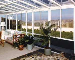 straight roof sun rooms