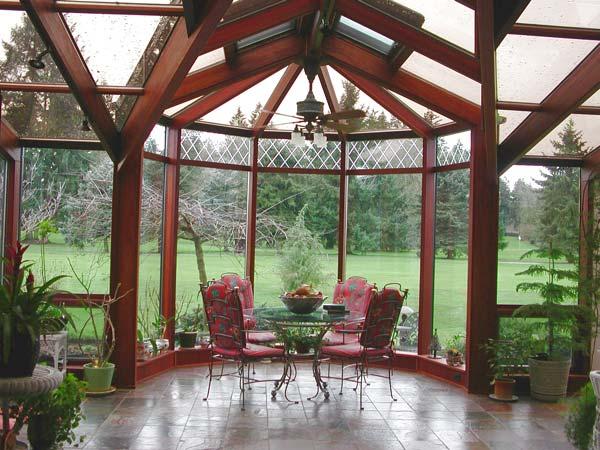 California sunrooms aluminum wood conservatories for Victorian sunroom designs