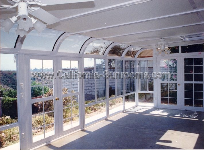 Curved Garden Rooms